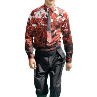 Paul Smith Men's Rose Shirt