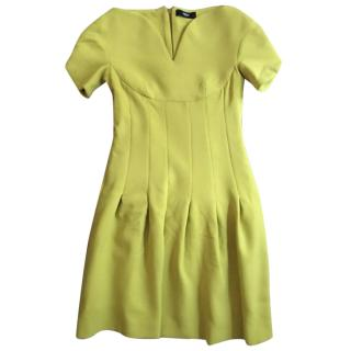 Versus Versace Citron Mini Dress