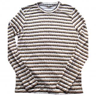 Kenzo Paris tiger stripe long sleeve T-shirt top M