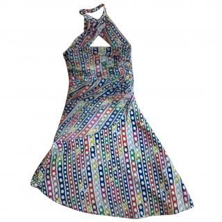Versus Versace Chain Print Dress