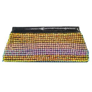 Matthew Williamson Large Multicoloured Sequin Clutch