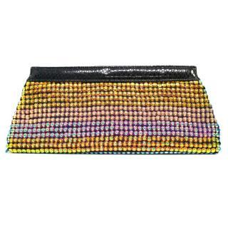 Matthew Williamson Large Multicoloured Sequin Clutch