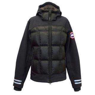 Canada Goose Black Coat With Fleece Lined Hood