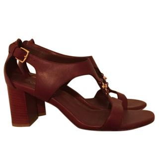 Loro Piana heel sandals