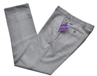 Ralph Lauren Purple Label grey wool trousers