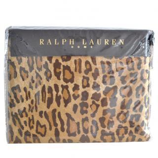 Ralph Lauren Home leopard duvet cover
