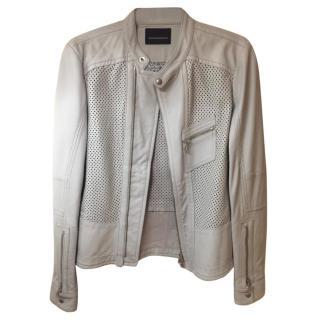 Disel Black Gold leather jacket