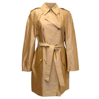 Escada Gold Silk Lightweight Mac