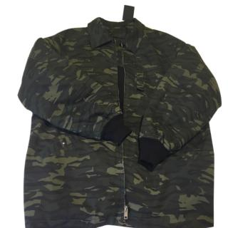Alexander Wang Men's Oversized Camouflage Jacket Current Season