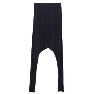 Osman Navy Harem Trousers