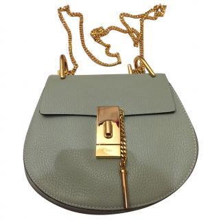 Chloe Drew Small Pistachio Leather shoulder bag