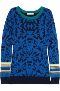 Matthew Williamson knitted intarsia sweater