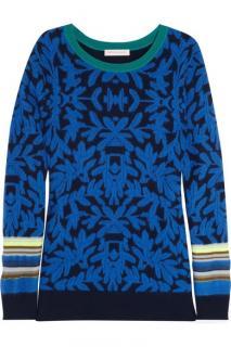 Matthew Williamson knitted intarsia sweater
