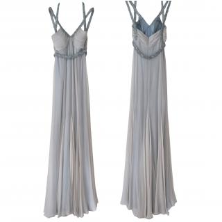 Amanda Wakeley Beaded Silk Gown/Bridal Dress