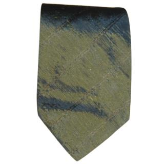 Hugo Boss green/grey tie