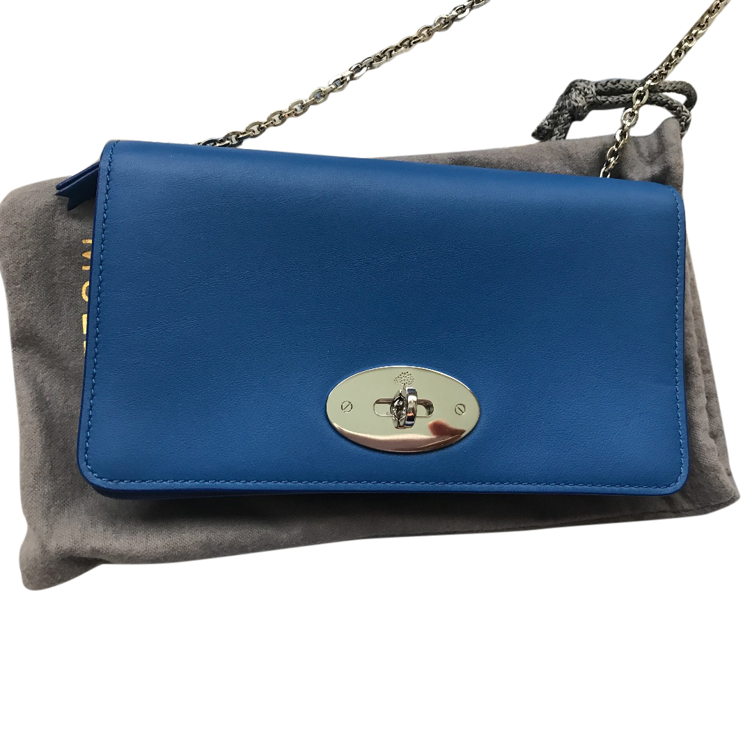 Mulberry Bayswater Clutch Bag In Bluebell  578786d706817
