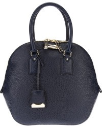 cefa2d6a9893 Burberry Medium Orchard Bag Navy Heritage Grain Leather