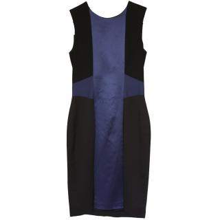 Jonathan Saunders heavyweight silk dress UK 8