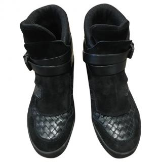 Bottega Veneta Men's High top ankle boots