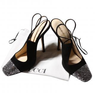 Pucci Suede and Swarowski crystal Shoes
