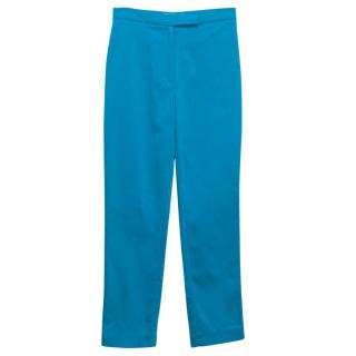 Osman Electric Blue Skinny Trousers