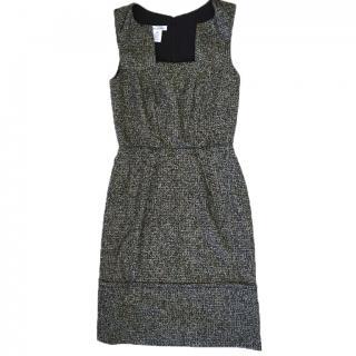 Oscar De La Renta Tweed Shift Dress