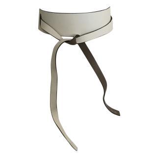 Kenzo reversible leather tie belt