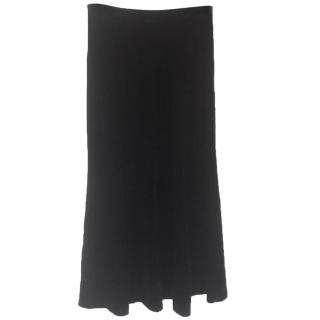 Joseph black velvet Maxi skirt by Joseph