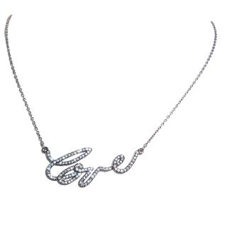 Swarovski Love Necklace