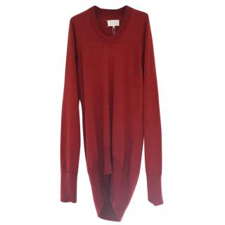 Maison Martin Margiela Burgundy dress/jumper