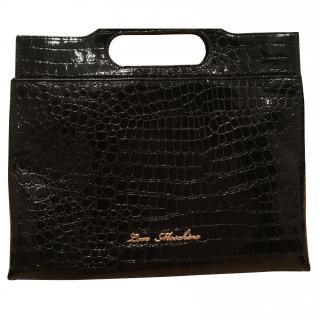 Classic black Moschino love bag