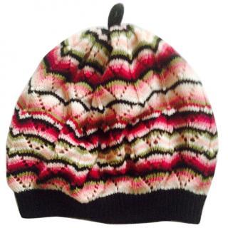 Missoni Pink striped Beanie