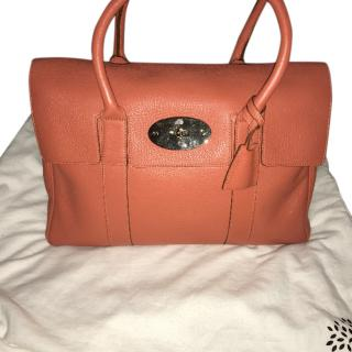 Mulberry Bayswater in Burnt Peach