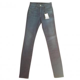3x1 channel seam skinny jeans 24