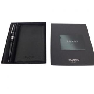 Balmain Passport Holder & Pen