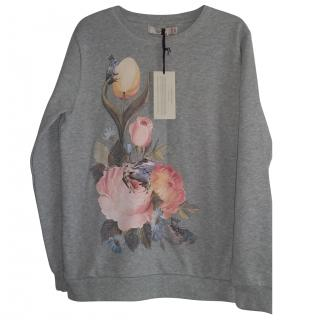 Stella McCartney grey cotton pullover