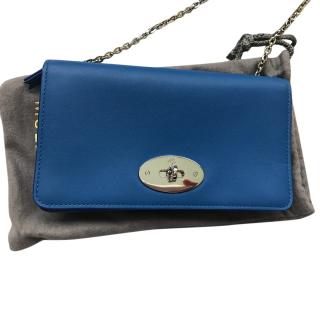 Mulberry Bayswater Clutch Bag in Bluebell