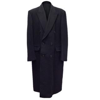 Savoy Taylor's Guild Navy Cashmere Coat