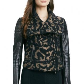 Diane Von Furstenberg biker jacket