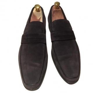 Dior Homme Loafer Suede Navy