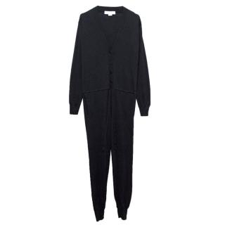 Stella McCartney Navy Wool And Silk Blend Onesie
