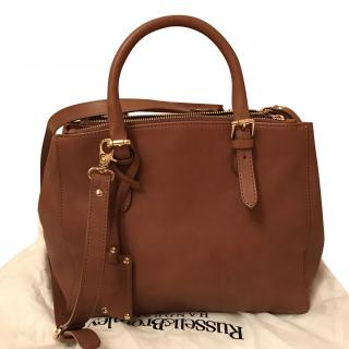 Russell & Bromley Tan Lancaster bag