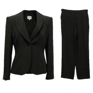 Armani Black Two Piece Suit
