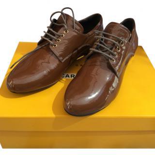 Car shoe derby shoes