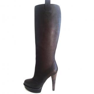 Yves Saint Laurent Knee High Boots