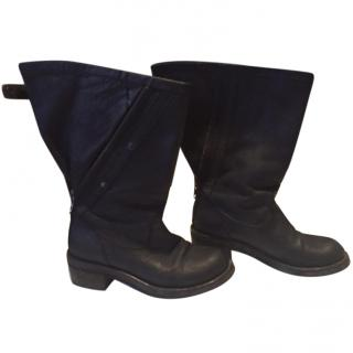 Beautiful Haider Ackermann leather boots EU 36