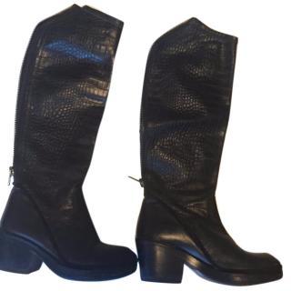 Beautiful Haider Ackermann leather boots EU 36.5