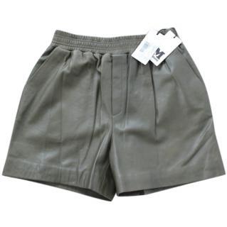 Missoni leather shorts