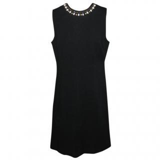 Milly black embellished dress