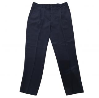 3.1 Phillip Lim Navy Blue 100% Silk Trousers/Pants Size 6/ UK10